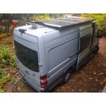 Univerzálna cúvacia kamera pre dodávky, karavany a mikrobusy