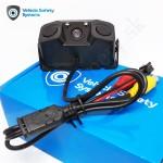 Parkovacia kamera s parkovacími senzormi pre osobné vozidlá, dodávky, karavany a mikrobusy