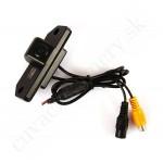 Cúvacia kamera Ford Focus, C-MAX s navádzacími čiarami, LED svietením, nočným režímom a kvalitnou optikou. 1998, 1999, 2000, 2001, 2002, 2003, 2004, 2005, 2006, 2007, 2008, 2009, 2010, 2011, 2012