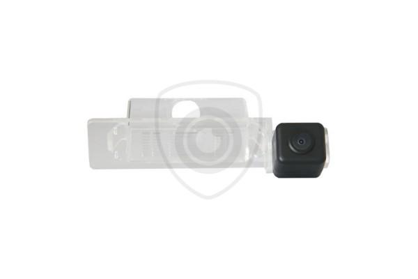 Parkovacia kamera Kia Optima čierna s navádzacími čiarami a širokouhlou optikou