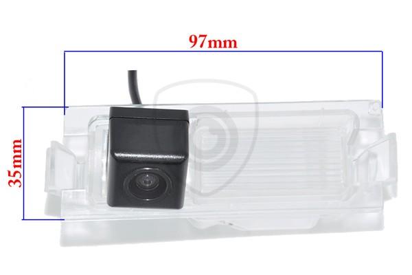 Cúvacia kamera Kia Rio, Ceed originálna OEM s navádzacími čiarami a nočným videním