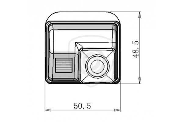 Cúvacia kamera Mazda 6, Mazda CX-7, 2002, 2003, 2004, 2005, 2006, 2007, 2008, 2009, 2010