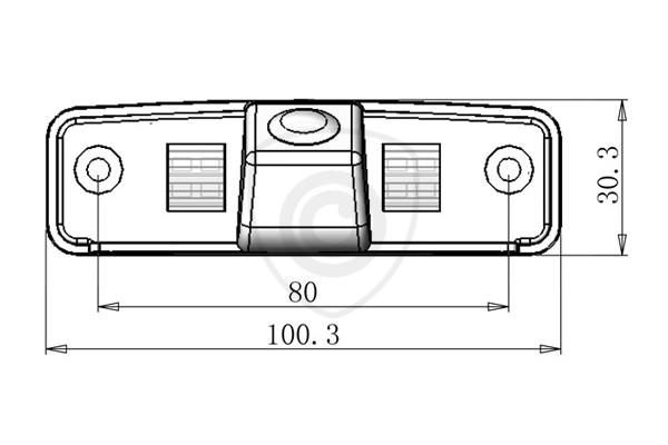 Cúvacia kamera Subaru Forester, Impreza, Legacy, Outback, 2008, 2009, 2010, 2011, 2012, 2013, 2014, 2015, 2016, 2017, 2018, 2019