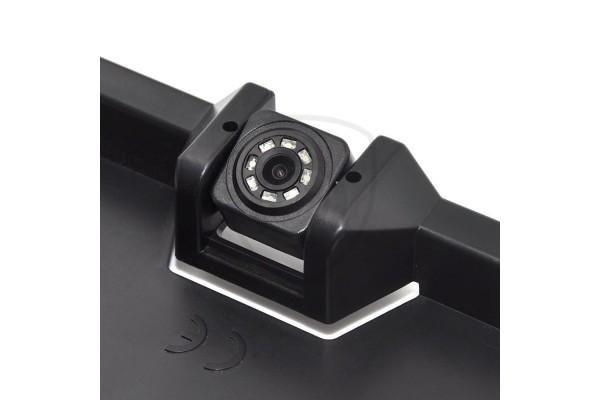 Držiak ŠPZ s parkovacími senzormi a cúvacou kamerou