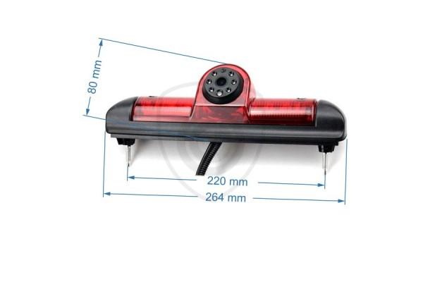 Cúvacia kamera Fiat Ducato