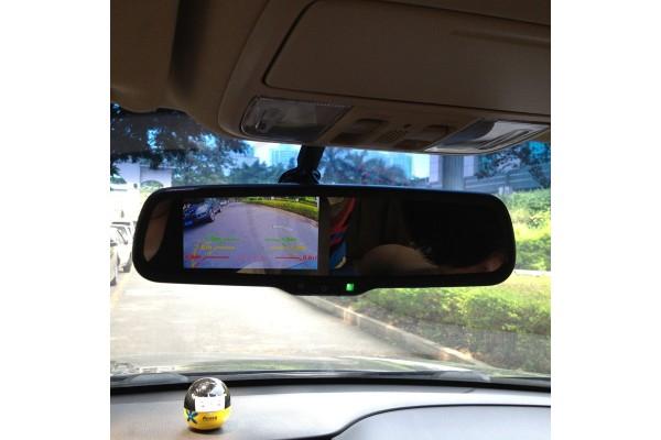 Originálne spätné zrkadlo s LCD monitorom 4,3″ do auta