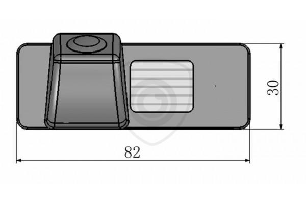 Parkovacia kamera pre Opel Insignia, Mokka X, 2010, 2011, 2012, 2013, 2014, 2015