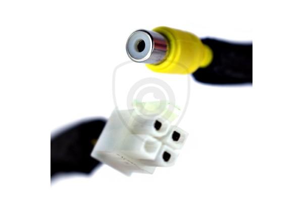Káblový adaptér na prepojenie cúvacej kamery s monitorom Subaru 2006 - 2013