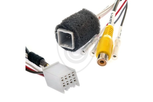 Káblový adaptér na prepojenie cúvacej kamery k monitoru Fiat a Mitsubishi 2013-2018
