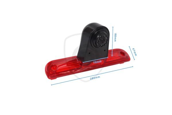 Homologizovaná cúvacia kamera pre Fiat Ducato