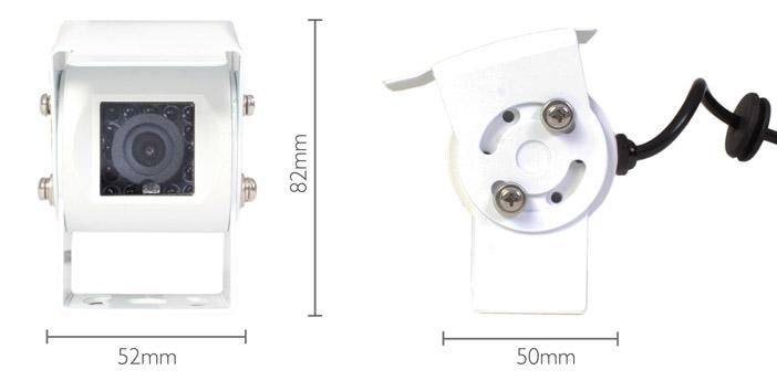 kamera Vestys ONE Mini rozmery biela farba kamery