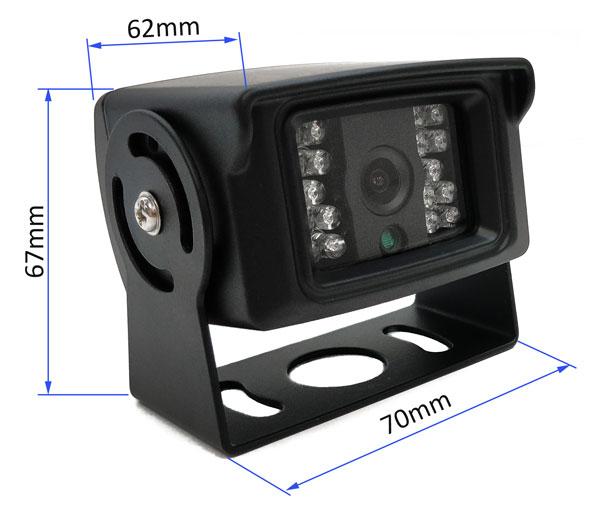 cúvacia kamera vestys simple rozmery