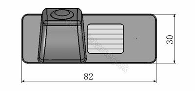 cúvacia kamera pre CHevrolet model 2