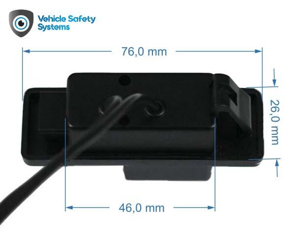 cúvacia kamera pre Citroën