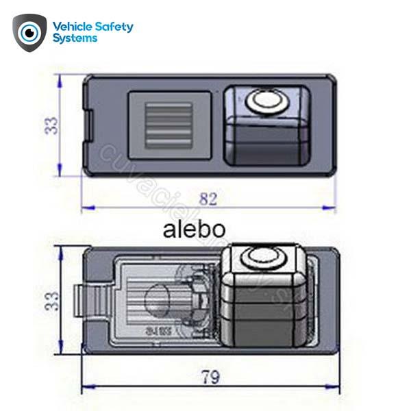 parkovacia kamera pre Dacia Duster a Logan