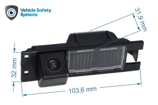 cúvacia kamera pre Fiat Doblo, Grande Punto, Tipo, Bravo, Palio