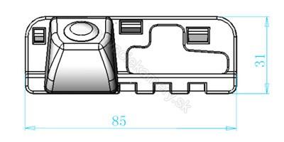 cúvacia kamera Honda Civic