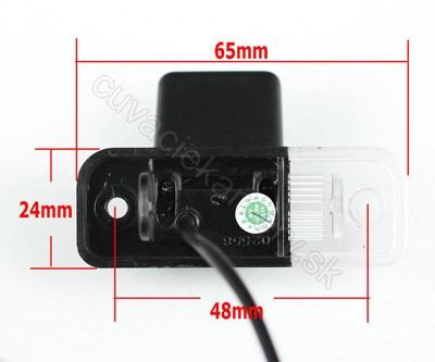 cúvacia kamera pre Mercedes C, Mercedes E, Mercedes CLS, Mercedes SLK