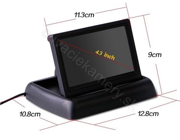 monitor displej sklapaci do auta pre cuvaciu kameru