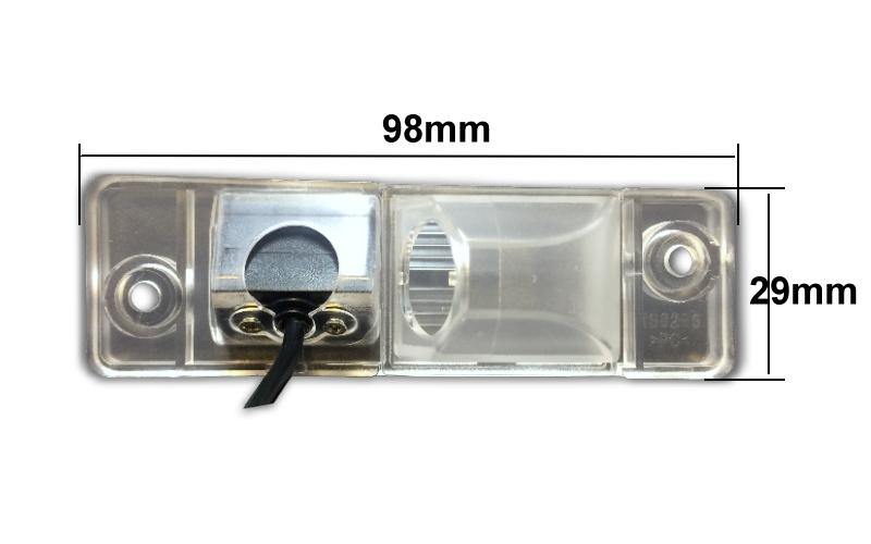 cúvacia kamera pre Opel Antara rozmery