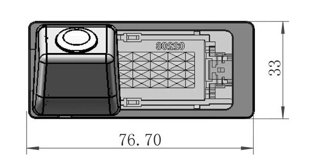 cúvacia kamera pre Škoda