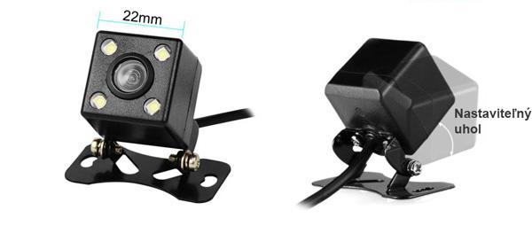 univerzálna cúvacia kamera UNI-CUBE pre všetky typy vozidiel