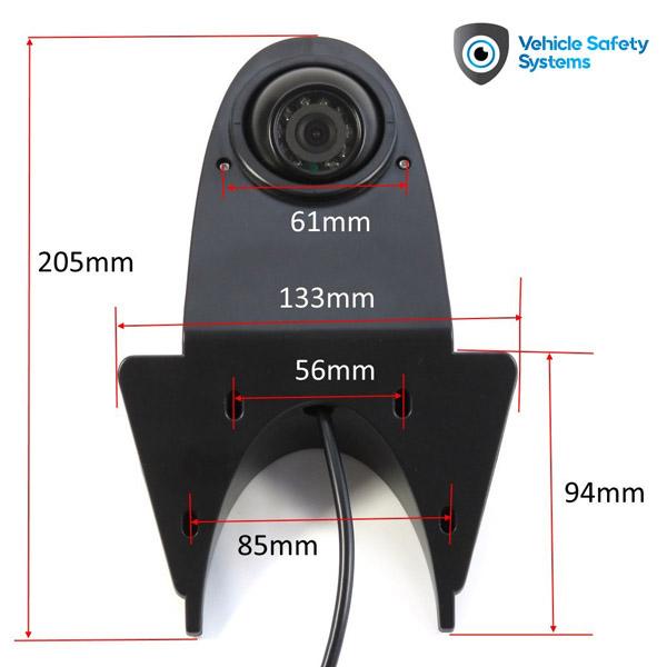 univerzálna cúvacia kamera pre dodávky a úžitkové vozidlá UNI-VAN