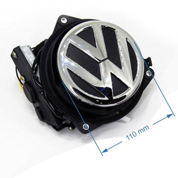 rozmery cuvacej kamery VW v rukovati kufra