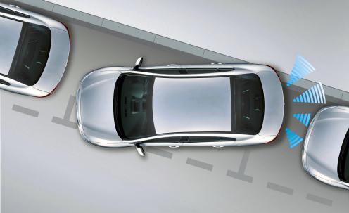 parkovanie s parkovacimi senzormi