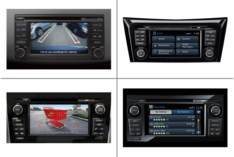 Monitory Nissan Connect 2 a 3