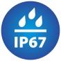 ikona znázorňujúca stupeň vodeodolnosti kamery IP67
