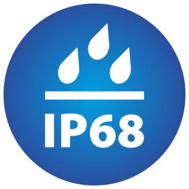 odolnosť kamery IP68